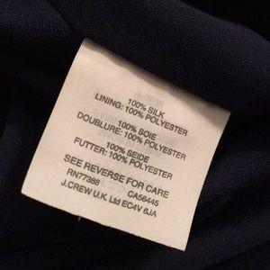 J. Crew Dresses - Pretty Silk drop waist dress | J. Crew